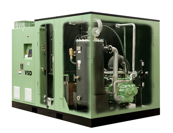 寿力固定式螺杆空压机LS160-280系列